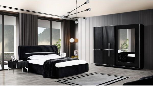 Azura Siyah Yatak Odası Takımı